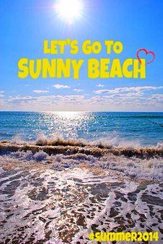 Sunny Beach, Bulgaria ❤️