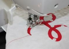 How to Applique with a regular sewing machine  I need to learn this!