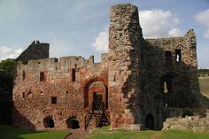 Hailes Castle, East Lothian. Scotland