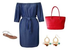 """""""Carol's day-to-day outfit"""" by maggiesitek on Polyvore featuring Miss Selfridge and Apt. 9"""