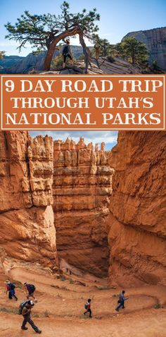 Your guide to an epic 9 day road trip through Utah's most beautiful parks. This would be an amazing summer road trip with the kids! park Driving The Utah National Parks - 9 Day Road Trip Voyage Usa, Voyage New York, Road Trip Usa, Places To Travel, Places To See, Camping Places, Beautiful Park, Us National Parks, Great Smoky Mountains
