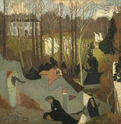 Maurice Denis; Easter Mystery (Mystere de Paques); 1891