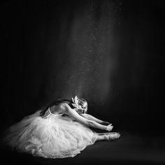 Ballerina. I love black and white pics