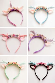 Cupcake's Clothes: handmade deer and unicorn alice bands. Suggested by Tiwanna Gabou on MTB15
