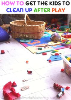 This is great when the pus don't want to clean up their toys.