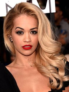blonde hair black roots - Google Search