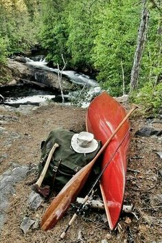 Canoe pack paddle: Solo tripping in Temagami region of Ontario Canoe Trip, Canoe And Kayak, Kayak Fishing, Fishing Boats, Get Outdoors, The Great Outdoors, Go Camping, Outdoor Camping, Wood Canoe