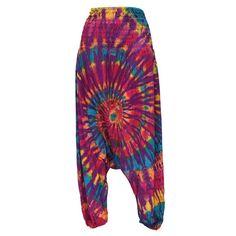 Gringo Rainbow Tie Dye Harem Pants