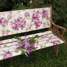 cute bench now!