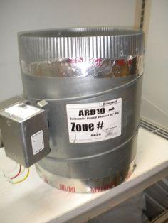 "HONEYWELL ARD10 AUTOMATIC ROUND DAMPER 10"" DIA. #Honeywell"