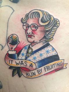 This 'Mrs. Doubtfire' Tattoo Is The Strangest Robin Williams Tribute Yet - MTV