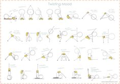 Twisting yoga sequence- teeny tiny om