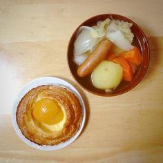 ほこほこポトフゥ(・ω・)パンは社長がくれました - 5件のもぐもぐ - ポトフ by asuka214
