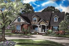 Great for Entertaining - 59345ND | Architectural Designs - House Plans