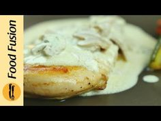 Grilled Chicken with Mushroom Sauce, resturant quality recipe By Food Fusion - YouTube