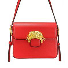 Red Flap Shoulder Bag - US$37.95 -YOINS