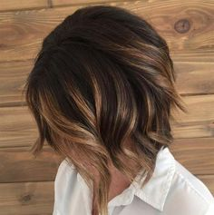 Balayage Ideas for Short Hair - Balayage Short Bob - Tips, Tricks, And Ideas for Balayage Hairstyles You Can Do At Home And For Short And Very Short Hair. DIY Balayage Hair Styles That Cost Way Less. Try The Pixie Balayage Hairdo For Blonde Or Dark Brunette Hair. Use Caramel, Red, Brown, And Black Colors With Your Undercut And Balayage Haircut. Get Beautiful Looks With Purple, Grey, Honey, And Burgundy. Try An Ombre With Bangs For Your Medium Length Hair Or Your Super Short Hair…