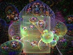 Dog Cage - Art by Rosemarie Created in Jwildfire, Dream Deeply  and Dreamscope