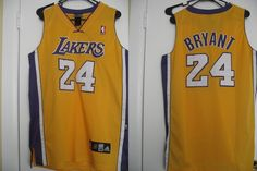 Adidas authentic Kobe Bryant men's size 48 jersey Los Angeles Lakers sewn #Lakers #LakersNation #Kobe #24