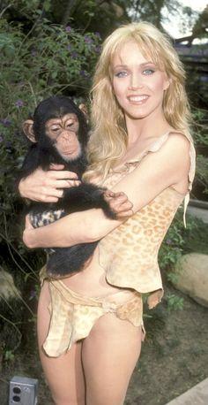 Sheena: Queen Of The Jungle - Tanya Roberts as Sheena.