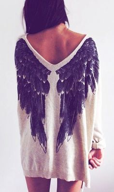 Winged top