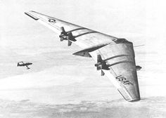 Data collected from the Northrop YB-49 test flights was used decades later in the development of the B-2 bomber.