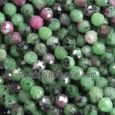 natural green ruby zoisite flat slice top drilled uneven shape briolette 9 inch long