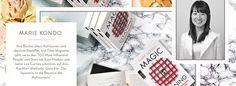 Alles in bester Ordnung | Sale bei Westwing Jamie Lee, Time Magazine, Kate Hudson, Konmari Methode, Star Wars, Polaroid Film, Storage, Tips, Purse Storage