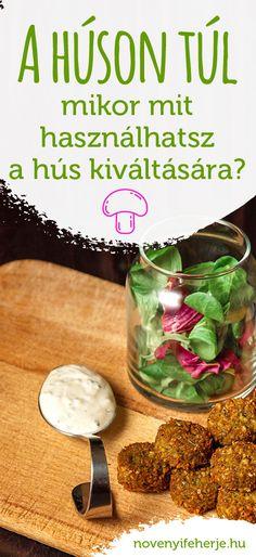 Milyen ételben hogy pótolhatod a húst? Mi van, ha hiányoznak a retro ízek? Mi a titka az igazán jó zöldséges ételnek, ami hús nélkül sem hagy hiányérzetet? #novenyifeherje #veganprotein #vegan #protein #fehérje #husnelkul #húsnélkül #csaknovenyek #etrend #novenyietrend #növényiétrend #fitfood #huspotlok #hushelyett #mitfőzzek Protein, How To Make, Food, Recipes, Meal, Essen, Hoods, Meals, Eten