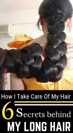 How I Take Care Of My Hair – 6 Hair Secrets Behind My Long Hair haircare longhair hairgrowth diy homeremedies 682436149765514073 Long Hair Tips, Hair Care Tips, How To Care Hair, Long Hair Growing Tips, Hair Secrets, Hair Tonic, Long Face Hairstyles, Natural Hair Styles, Long Hair Styles