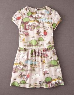 Printed Tea Dress by Boden
