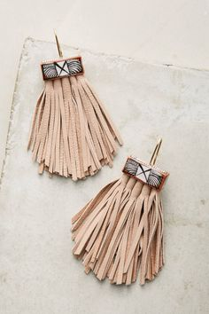 Shop the Caged Leather Tassel Earrings and more Anthropologie at Anthropologie today. Read customer reviews, discover product details and more.