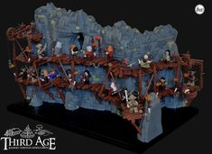 A fellowship of LEGO builders takes us on an epic journey through Middle-earth with 13 amazing creations Lego Minecraft, Lego Moc, Marvel And Dc Superheroes, Shark Art, Amazing Lego Creations, Lego People, Lego Builder, Lego Castle, Lego Projects