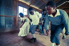 Let them praise his name with dancing . . . Psalm 149:3   Young members of the Africa Brotherhood Church in Katani, Kenya, dance in celebration during service. Their pastor receives ongoing training and mentoring on how to faithfully preach from the Bible, and today the church is thriving.... This is why Langham trains preachers—to see God's Word transforming the church, and the church responding by transforming the surrounding community. www.langham.org