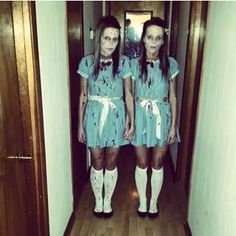 The Grady Twins from The Shining | 31 Halloween Costumes That Will Actually Scare Your Friends                                                                                                                                                                                 More