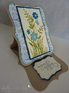 Top Note Easel Card
