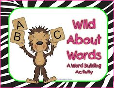 First Grade and Fabulous: Wild About Words