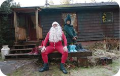 Hey Humans! Santa here, I snuck my way into Native Shoes HQ to spread some Christmas Cheer and give away some gifts to all the rad boys and girls. REPIN THIS PHOTO to enter to win a pair of Jimmy Boots! Check out the full contest here: http://on.fb.me/NU1pTE