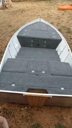 Aluminum boat project