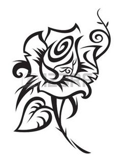 You might assume white rose tattoos are strictly for women, but this really isn't the case. The symbolism of a white rose is appropriate to express many . White Rose Tattoos, Black Tattoos, Tribal Tattoos, Free Tattoo Designs, Flower Tattoo Designs, Native Rose, Tiger Artwork, Beginner Tattoos, Flower Outline