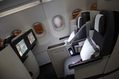 Review: Qatar Airways A320 NEW FIRST Abu Dhabi - Doha - http://youhavebeenupgraded.boardingarea.com/2015/05/review-qatar-airways-a320-new-first-abu-dhabi-doha/