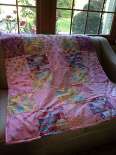 Child's Quilt- donation- for girl sick child