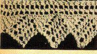 Knit Lace = knit lace, knitting lace pattern, knitted lace pattern, easy lace pattern