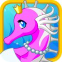 Elegant Seahorse - Dress Up for Android