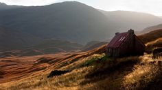 A view of West Affric in Scotland during autumn #NTSautumn