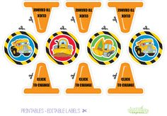 #Construction Pals #Birthday #Party FREE PRINTABLES @David Dahlquist Express
