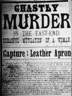 I've been fascinated by Jack the Ripper since I found out one of my ancestors was arrested on suspicion of being the man himself.