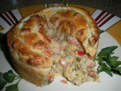 Chef JD's Gourmet Comfort Cuisine : Crawfish and Andouille Pie
