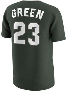 f2e0607d9530 Men s Draymond Green Michigan State Spartans Basketball Future Stars  Replica T-Shirt