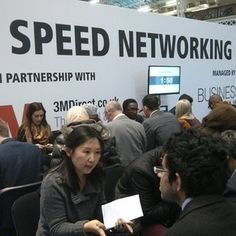 Absolute business being done in the speed networking sessions with @businessscene #tbs2013